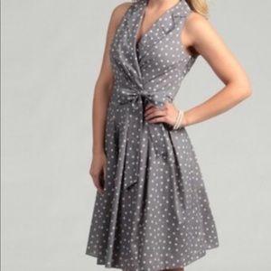 Evan Picone Polka Dot Dress